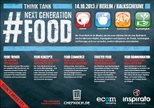 Next Generation Food 2013