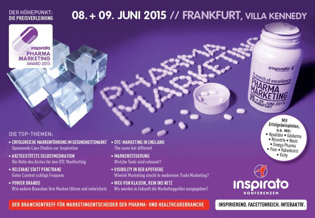 Programm Pharma Marketing 2015